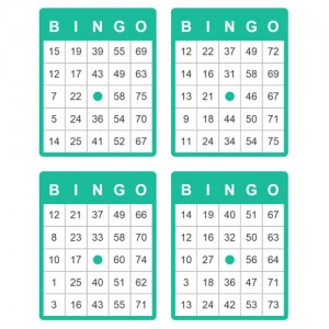 75 ball bingo cards of bingo deal